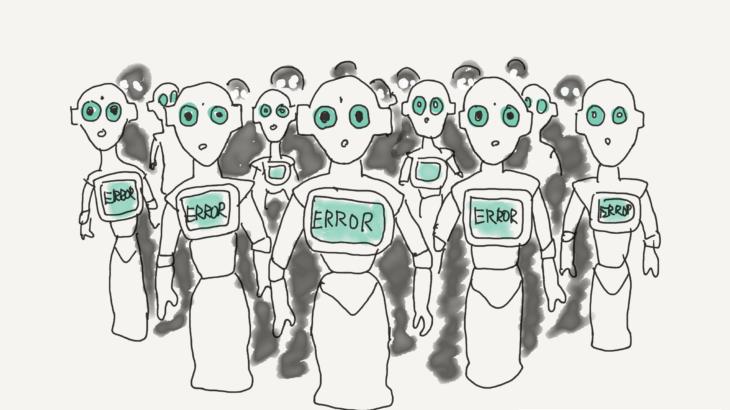 不気味の谷の人型ロボット
