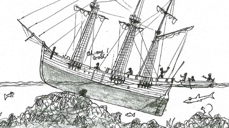 【キャプテン・クック最大のピンチ】エンデヴァー号のグレートバリアリーフ離礁作戦
