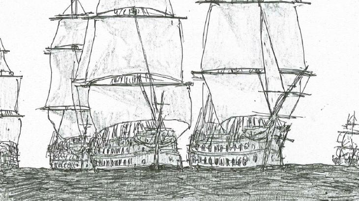 ウィリアム・ターナーが描いた戦艦テメレーア号の知られざるその活躍